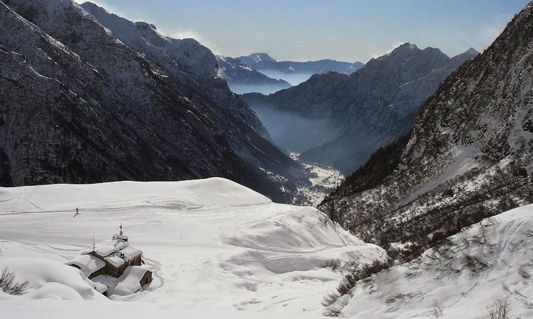 Veduta della Valsesia
