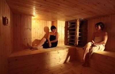 Rilassanti momenti in sauna